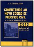 Comentarios ao novo codigo de processo civil lei03 - Jurua