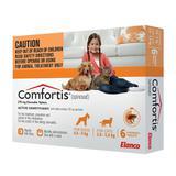 Comfortis 3unidades com  1 comprimido cada de 270mg - Elanco