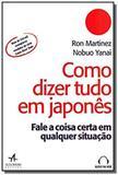 Como dizer tudo em japones - Alb - alta books