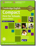 Compact first for schools sb without answers and d - Cambridge