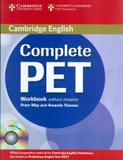 Complete pet wb without answers with audio cd - Cambridge university