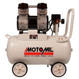 Compressor Odontológico Motomil 2 HP 8 Pés 46 Litros Portátil