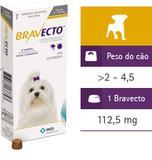Comprimido Para Cães De 2 A 4,5kg Antipulgas - Bravecto