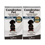 Condrotec Pet 500mg 60 comprimidos Syntec KIT 2 unidades