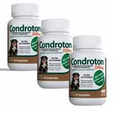 Condroton 1000 Kit 3 Unidades Total 180 Comprimidos - Vetnil