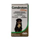 Condroton 1000mg 60 comp. Vetnil Suplemento Cães