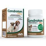 Condroton 60 Comprimidos Até 5 Kg Vetnil - 500 Mg
