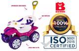 Confortável Carrinho De Passeio Andador Infantil Biemme Soft Car Direcionavel