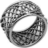 Conjunto 4 Anéis para Guardanapo Redondo de Latão 4,5cmx2,7cm Rojemac