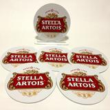Conjunto com 6 Porta Copos Redondos Stella Artois - All classics