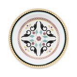 Conjunto com 6 pratos fundos 23cm - floreal luiza - oxford daily