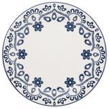 Conjunto com 6 pratos rasos 26cm - floreal energy - oxford daily