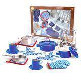 Conjunto Completo Master Chef - Azul - Nikki - New toys