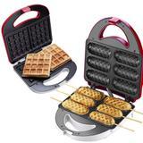 Conjunto Crepeira Doce Gula + Máquina De Waffle 127V Cadence.