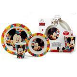 Conjunto de Alimentação 3 Peças Mickey 306521 Lillo