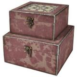 Conjunto de caixas decorativas - 2 pcs - Btc decor