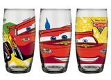 Conjunto de Copos Long Drink 430 ml (3 unidades) Disney Carros 2 Nadir - NAF 372