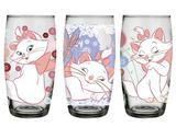 Conjunto de Copos Long Drink 430 ml (3 unidades) Disney Marie Nadir - NAF 374