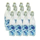 Conjunto de garrafas de vidro - 12 pcs - Btc decor