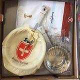 Conjunto de Panelas Aço Inox Cirúrgico Desing Suíço Swiss Home 19 Peças