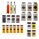 Conjunto de Potes Completo 23 peças  Black  Vetrolar