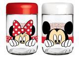 Conjunto de Potes de Vidro Disney Amigos 598 ml (2 unidades) Nadir - NAF 378
