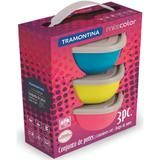 Conjunto de Potes Tramontina 3 Peças 25099947 - Tramontina inox