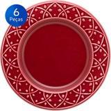 Conjunto de Pratos para Sobremesa 6 peças Mendi Corvina - Oxford