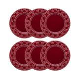 Conjunto de Pratos Rasos 26 cm 6 Peças Corvina - Oxford - Oxford sc