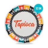 Conjunto de Pratos Rasos 26 cm 6 peças Tapioca - Oxford - Oxford sc