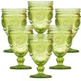 Conjunto de Taças para Vinho Aubusson Verde 6 pçs - Decorafast