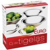 Conjunto de Tigelas - 5 Peças - Euro Home