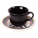 Conjunto de Xícaras para Chá com 12 Peças Floreal Luiza Oxford