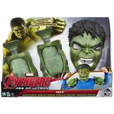 Conjunto músculo e mascara hulk avengers marvel - hasbro - b0428
