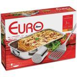 Conjunto para Lasanha Inox 3 Peças Euro