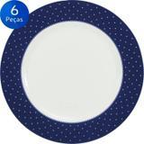 Conjunto Pratos Rasos Maitê 6 peças - Schmidt