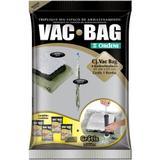 Conjunto Vac bag com 4 sacos médios +bomba grátis Cód. 7733 - Ordene s/a