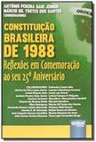Constituicao brasileira de 1988 reflexoes em comem - Jurua