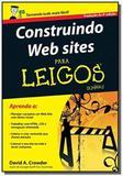CONSTRUINDO WEB SITES PARA LEIGOS - 4a EDICAO - Alta books