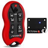 Controle Longa Distância Stetsom SX-2 500 Metros LED 16 Funções Vermelho