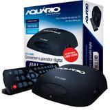 Conversor e Gravador Digital Aquário DTV-5000 - Antenas aquario