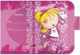 Convite Aniversário 10un (10x6,5cm) CT-030 Litoarte