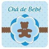 Convite Chá de Bebê Urso Azul Duster c/ 08 unidades - Ultrafest