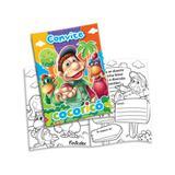 Convite de Aniversário Cocoricó New 08 unidades Festcolor