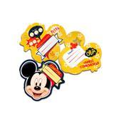 Convite de Aniversário Mickey Clássico 08 unidades Regina Festas