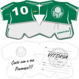 Convite de Aniversário Palmeiras  08 unidades - Festabox