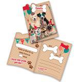 Convite de Aniversário Pet Shop 08 unidades Festcolor
