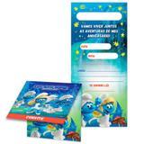 Convite de Aniversário Smurfs 08 unidades Festcolor