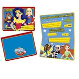 Convite de Aniversário Super Hero Girl 08 unidades Regina Festas - Festabox