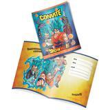Convite Dragon Ball Super 08 unidades Festcolor - Festabox